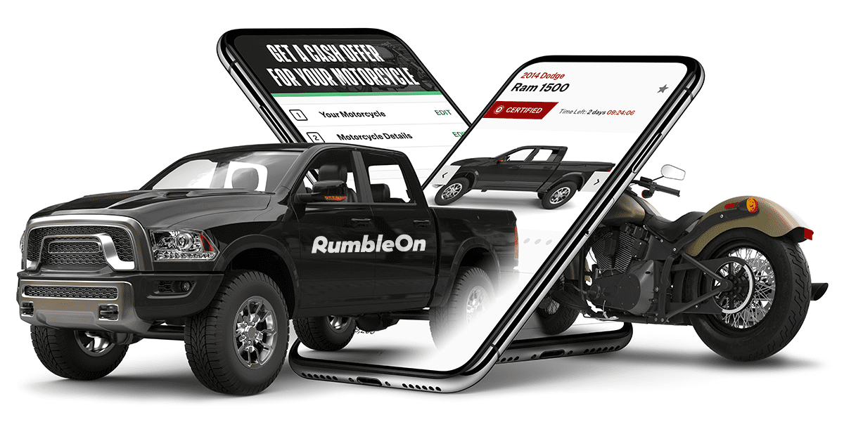 Trade a motorcycle for anything with RumbleOn!