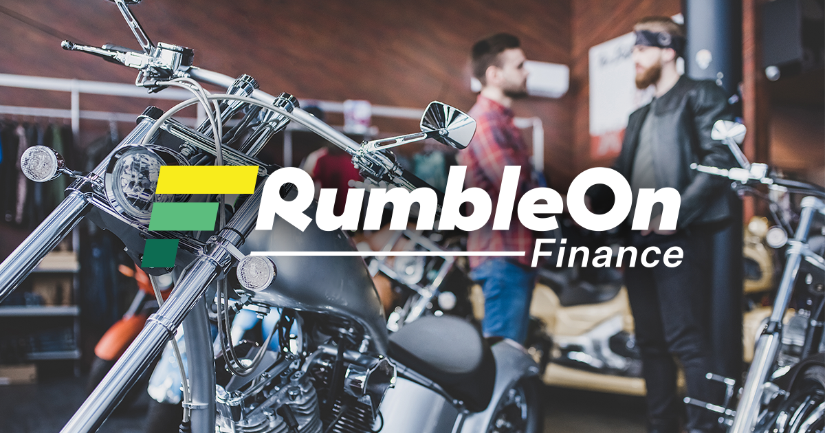 RumbleOn Motorcycle Finance